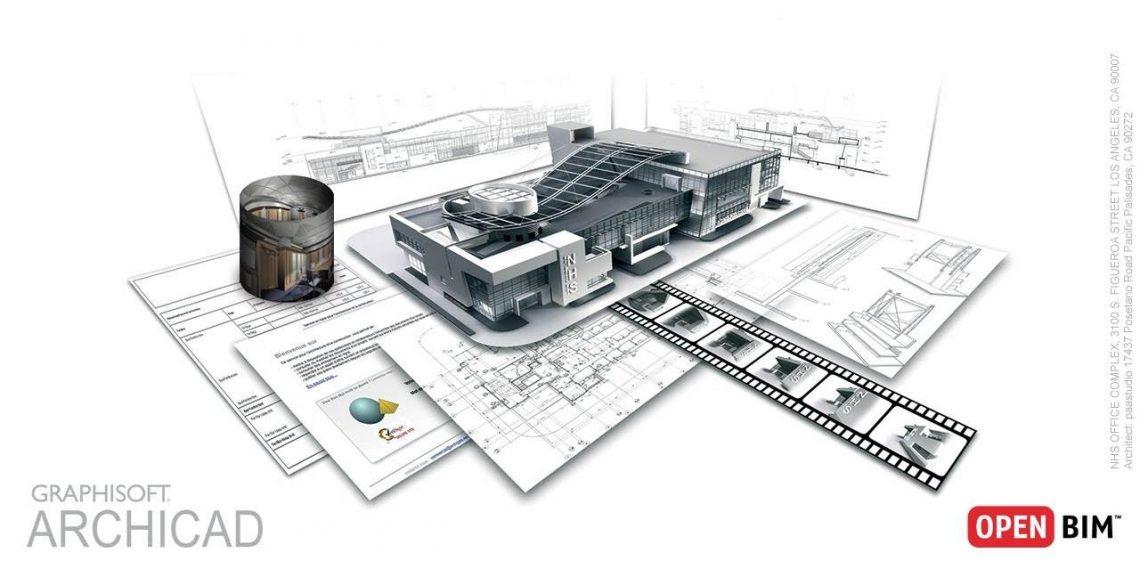 ARCHICAD - Modelo BIM e a representação 2D automática